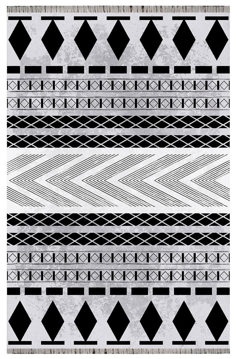 فرش فانتزی مدرن کلکسیون مراکشی کد 1110