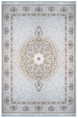 فرش ماشینی سلیمان صباحی طرح افسانه صدفی گل برجسته