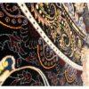 فرش ستاره آسمان کویر طرح مانا زمینه سرمه ای
