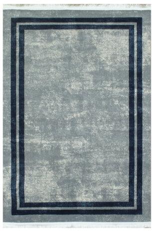فرش ماشینی کلکسیون ورساچه رنگ خاکستری 1 * 1/5 متری