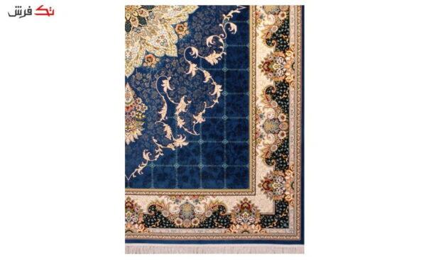 فرش ستاره آسمان کویر طرح 1002 زمینه کاربنی