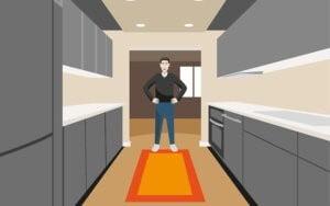 چطور بهترین فرش آشپزخانه را انتخاب کنیم ؟