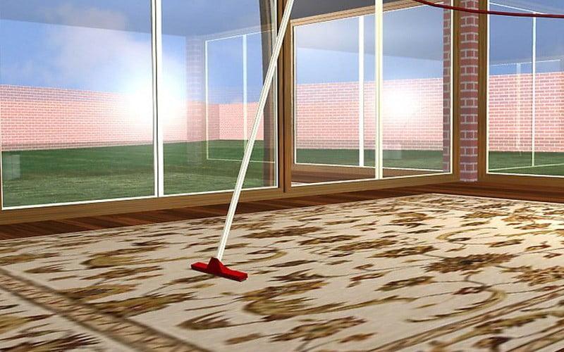 تمیز کردن فرش ابریشمی