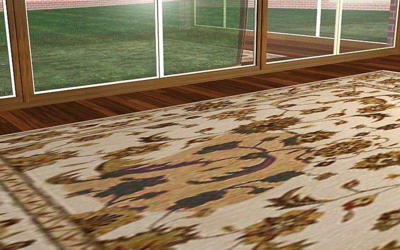 4 روش برای تمیز کردن فرش ابریشمی
