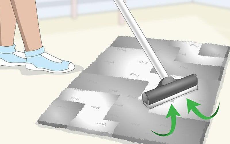 روشن کردن فرش های کدر شده