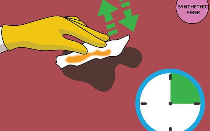 4 روش برای پاک کردن لکه شکلات از روی فرش