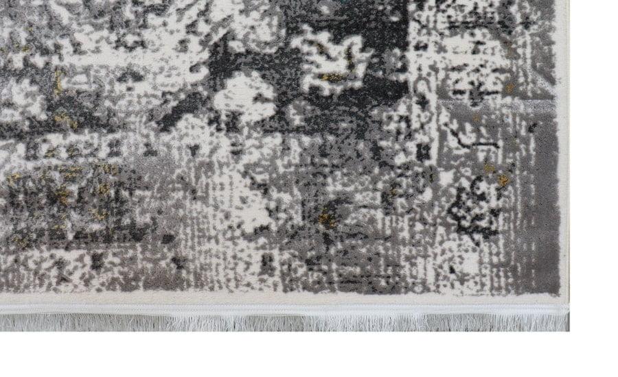 فرش فانتزی کلکسیون کهنه نما کد 620 زمینه سفید