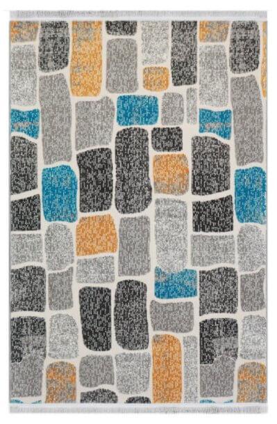 فرش فانتزی کلکسیون چهل تکه کد 577 زمینه چند رنگ