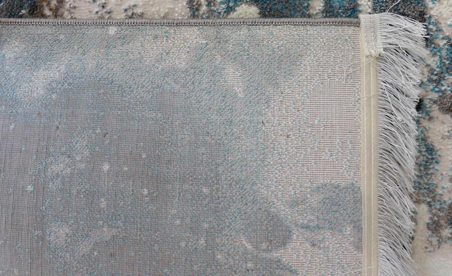 فرش فانتزی کلکسیون کهنه نما کد 595 زمینه سفید