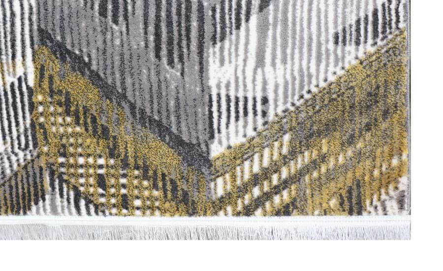 فرش فانتزی کلکسیون کهنه نما کد 569 زمینه چند رنگ