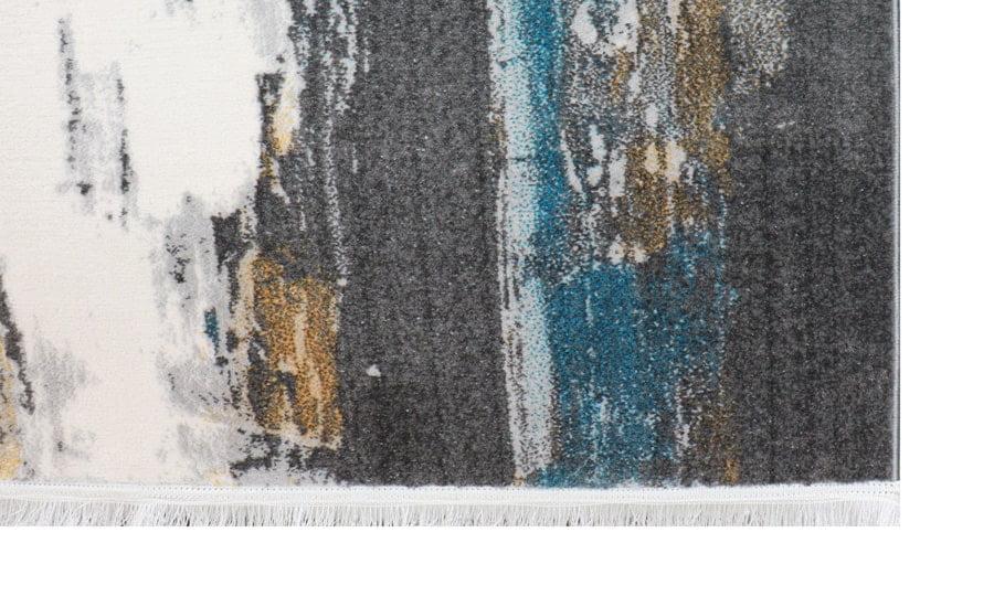فرش فانتزی کلکسیون کهنه نما کد 568 زمینه سفید