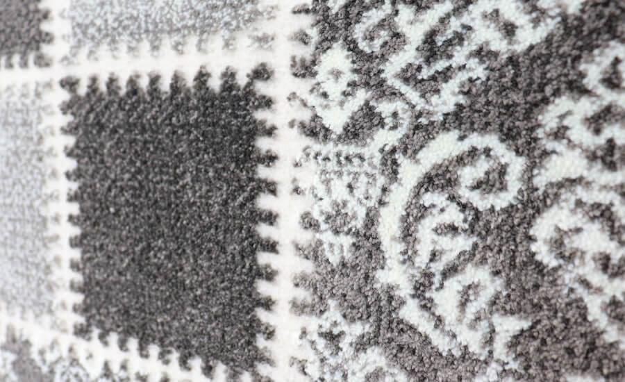 فرش فانتزی کلکسیون چهل تکه کد 630 زمینه چند رنگ