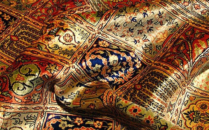 معایب و مزایای فرش ابریشم