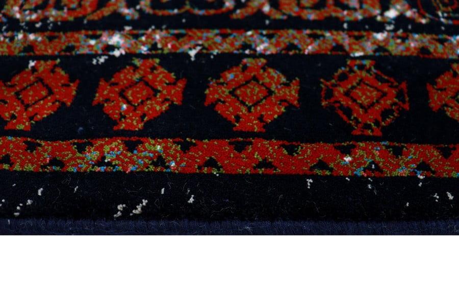 فرش فانتزی کلکسیون کهنه نما کد 700125 زمینه طوسی