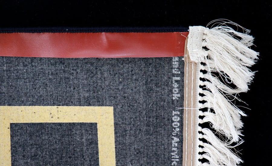 فرش فانتزی کلکسیون ورساچه کد 700118 زمینه مشکی