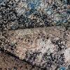 فرش فانتزی کلکسیون کهنه نما کد 700145 زمینه آبی