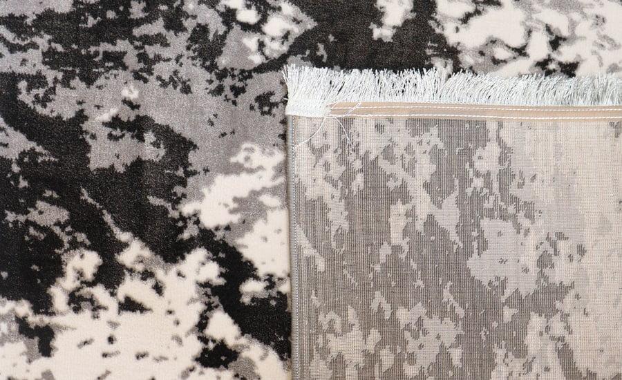 فرش فانتزی کلکسیون کهنه نما کد 547 زمینه مشکی