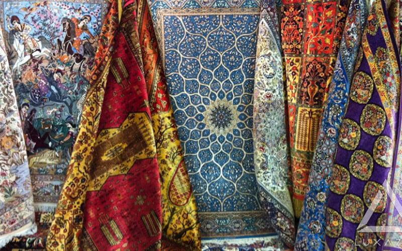 چند توصیه ی مهم و ضروری برای نگهداری از فرش ابریشم