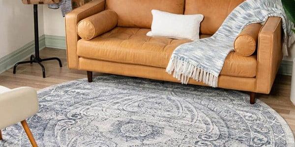 رنگ فرش مناسب برای مبلمان قهوه ای
