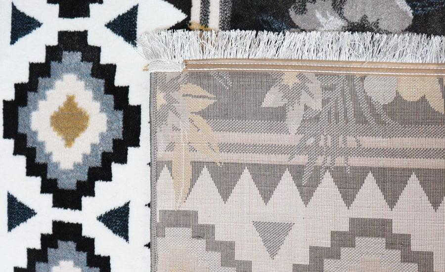 فرش فانتزی کلکسیون مراکشی کد 655 زمینه چند رنگ