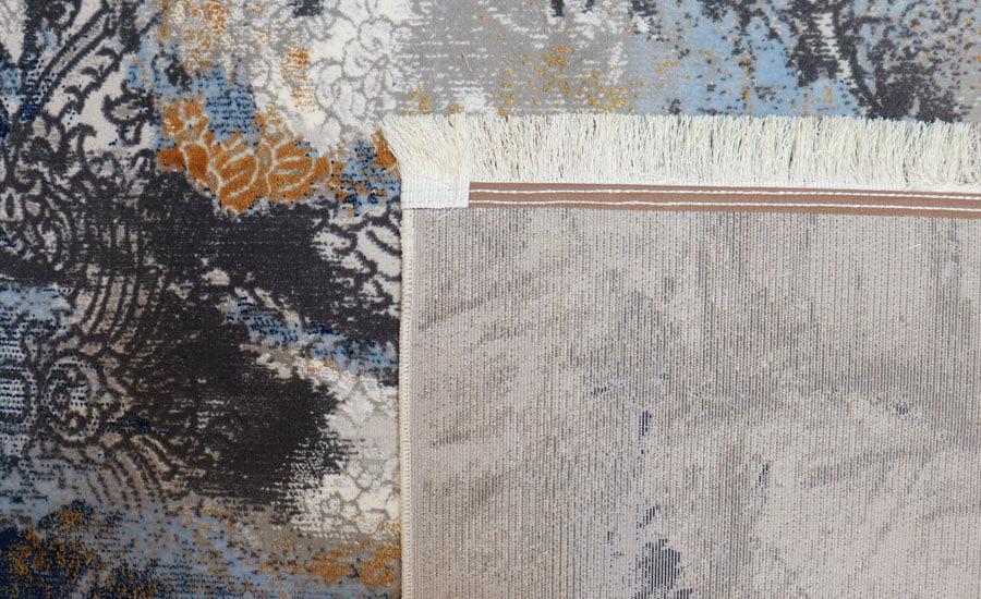 فرش فانتزی کلکسیون کهنه نما کد 420 زمینه چند رنگ