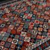 فرش ماشینی سبلان کلکسیون گبه کد 31 زمینه چندرنگ